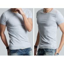 OEM 2015 último diseño hombres de algodón de manga corta camisa de manga corta camiseta de los hombres