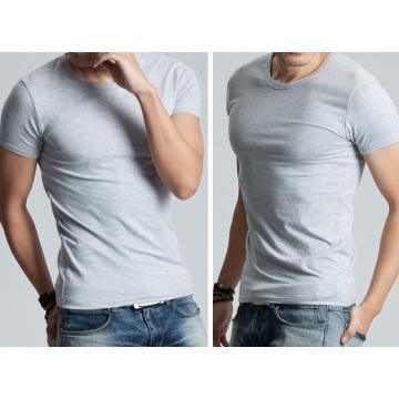 OEM 2015 mais recente design homens algodão blusa manga curta slim homens do t-shirt