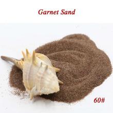 Arena de granate más popular para chorro de arena y pulido