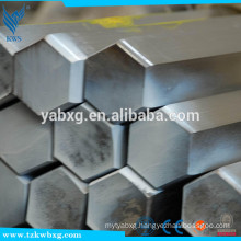 GB705 hot rolled S11 to S16 304L 2B stainless steel hexagon bar