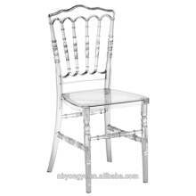 Classical French style strong and durable plastic resin napoleon chair