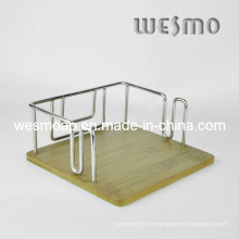 Sostenedor de bambú carbonizado de la servilleta (WTB0313B)