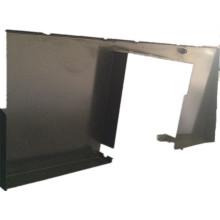 Fabrication en métal lourd, plaque galvanisée, machines précises adaptées aux besoins du client de commande numérique par ordinateur