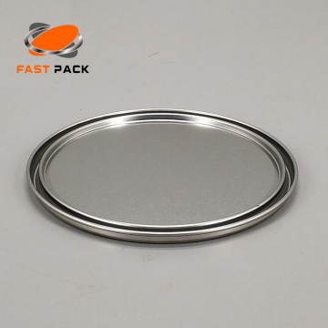 404 metal paint tin cans lid/ ring/ bottom