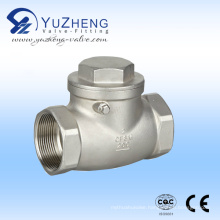 Stainless Steel Thread Swing Check Valve (NPT)