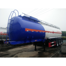 OEM for Chemcial Tanker Truck 40cbm 3 axle Methyl alcohol tank semi-trailer supply to Norway Factories