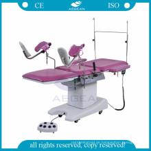 AG-C203A Metallrahmen Geburtshilfeuntersuchungs-Krankenhaus gynäkologische Untersuchungstabelle