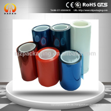 Weiß, blau, rot, transparente Farbe Silikonbeschichtete PET Release Liner Film