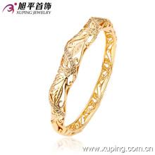 51130 Xuping banhado a ouro fio de seda fio jaipur lakh lac pulseiras indianas