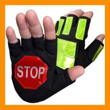 Светящиеся В Темноте Перчатки Безопасности Дорожного Движения
