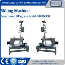 High quality plastic film paper slitting machine