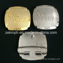 3D Gold and Silver Buckles for Pants