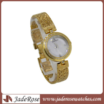 2014 New Luxury Stainless Steel Woman Watch China New Innovative Products