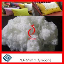 Полиэфирное штапельное волокно 7D / 15D * 32мм 51мм 64мм 71мм Hcs Hc, PSF, полиэфирное волокно