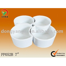 4 pcs porcelain serving dishes sets