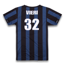 Camisas de fútbol de sublimación con nombres y números