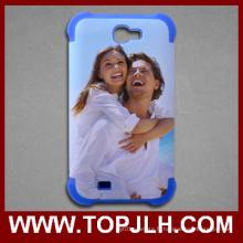 Etui de téléphone Mobile de Sublimation de TPU + PC pour Samsung Galaxy Note 2
