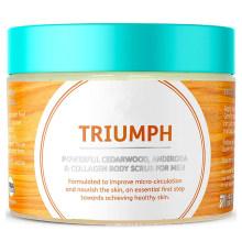 Custom Skin Detoxifying & Energising Treatment Exfoliating Body Scrub for Men