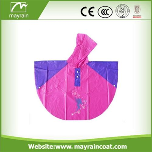 Kid Cartoon Rain Poncho
