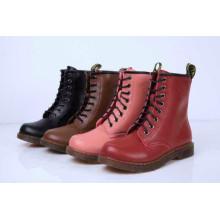 Nuevas botas militares de las señoras de la moda del estilo (HCY02-1786)
