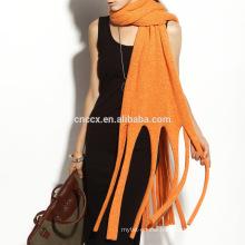 16STC8115 fashion fringer cashmere scarf