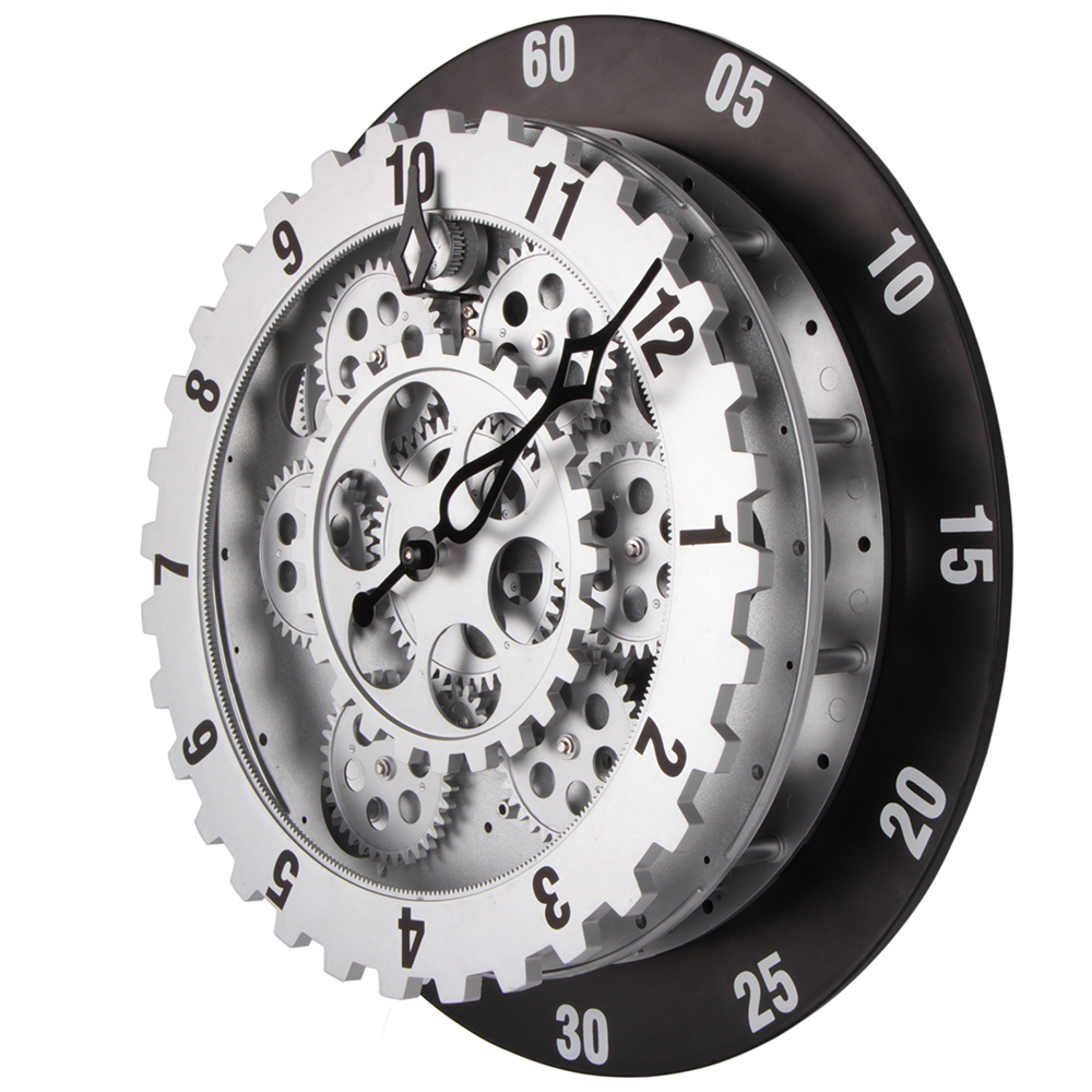 modern industrial clocks