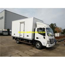 Auman 2ton Small Freezer Trucks