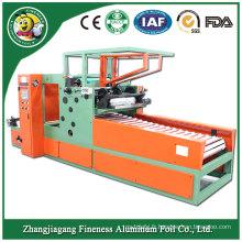 Rebobineuse promotionnelle durable de bobine de papier d'aluminium de lame d'air
