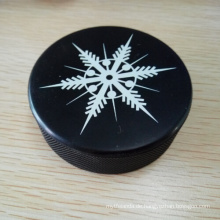 3 * 1 Zoll hart vulkanisierten Gummi Hockey Puck