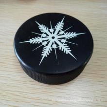 3*1-Дюймовый Жесткий Вулканизированная Резиновая Хоккейная Шайба