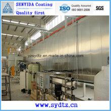 Машина для нанесения горячего порошкового покрытия / Оборудование / Линия окраски для предварительной обработки