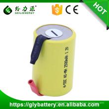 precio al por mayor gran poder recargable 4 / 5sc 2500 mah nimh sc 1.2 v ni-mh batería