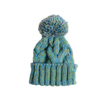 Barato artesanal de malha Beanie Hat