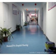 Hôpital en PVC / vinyle et plancher médical