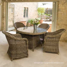 Garden Patio Wicker Dining Set Outdoor Rattan Furniture
