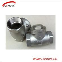 Válvula de retención hembra del oscilación sanitario del acero inoxidable CF8m