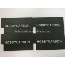 Folha da fibra do carbono do CNC, folhas da tira da fibra do carbono para quadros de FPV, zangão folha de 1.0mm 3.0mm 4.0mm 4.0mm