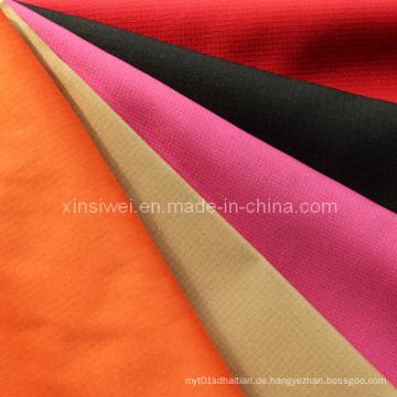 Überprüfen Sie Pongee Fabric
