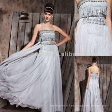 NY-2532 Exotic Boutique Vestido formal largo sin tirantes