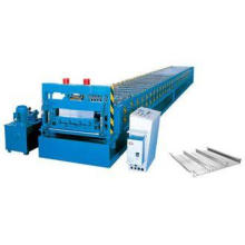 11KW 2 sets floor deck roll forming machine with 10-15m / m