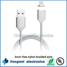 Magnetic Micro USB Daten Blitz Lade USB Kabel für iPhone 5 6s I104