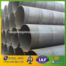 Hersteller von großem Durchmesser SSAW Spirale geschweißte Stahlrohr zum Verkauf aus China
