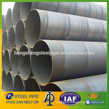 Manufacturer of Large diameter SSAW spiral welded steel pipe on sale from china