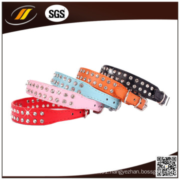 New Arrival Sparkly Dog Collars with Good Quality (HJ1209)