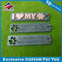 Custom Letters Metal Dog Tag for Love