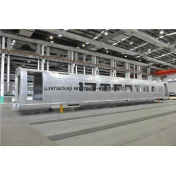 Corpo de Metro de liga de alumínio 7n01 / 6005A