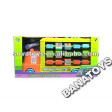 Baby Toy Cartoon Bus with Blocks