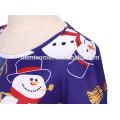 Robe colorée professionnelle imprimée de fille de Noël habillement doux d'enfant