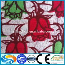 100%cotton wax fabric high quality customer demand