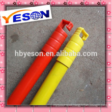 Wooden Broom Handle With Plastic Cap